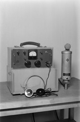 Anglų lietuvių žodynas. Žodis capacitor microphone reiškia kondensatoriaus mikrofonas lietuviškai.