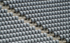 Allianz Arena  (Explore 09/10/14) (only lines) Tags: germany munich football stadium empty seats seating allianzarena