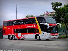 Expresso Itamarati 6364 (cborges.k113 (So Paulo/Brasil)) Tags: bus buses 7 terminal double brazilian paulo barra nibus so decker brasileiros funda gerao rodovirio
