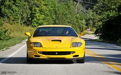 Ferrari 550 Maranello (Matthew Britton) Tags: auto road red black sexy classic ass car yellow matt nikon matthew rally rear images ferrari crescent exotic springs arkansas nikkor dslr mb v8 eureka britton maranello f430 gtb f40 v12 550 2014 599 d300s
