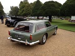 1965 Aston Martin DB5 Vantage Shooting Brake (mangopulp2008) Tags: uk court martin shooting brake hampton sept aston concourse vantage 1965 elegance db5 2014