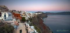 S a n t o r i n i (ƇĦŘĺς ΛΨŁЩΛŘĐ ƤĦŎŦŎƓƦΛƤĦϔ) Tags: sunset island aegean santorini greece caldera ia oia cyclades thira fira hdcymru