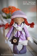 Bonequinha Marili (Dani_Fressato) Tags: doll artesanato craft boneca patchwork tecido trabalhomanual ideias retalhos danifressato
