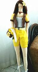 Minha Tilda Moderninha (Artesanatos by Janet) Tags: pano estilo boneca bolsa tilda jovem roupa tecido