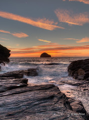 Cornwall-11 (Ian Price) Tags: sunset canon landscape corn cornwall 11 mk g1x