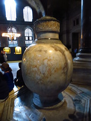 Hagia Sophia, Istanbul, Turkey - July 2014 - 66 (Jimmy - Home now) Tags: museum turkey river catholic islam istanbul ama hagiasophia hagiasofia rivercruise catholics catholism amawaterways