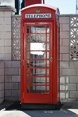 Gibraltar, K6 Telephone Kiosk (Stuart Axe) Tags: red history classic rock phone telephone icon historic kiosk gibraltar redbox bt telephonebox k6 phonebox gpo listed rockofgibraltar britishtelecom listedbuilding generalpostoffice gilesgilbertscott gradeii payhone britishoverseasterritory tudorcrown