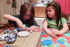 Play Time (LarrynJill) Tags: kids evie teaparty mady