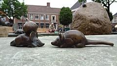 Fountain art, Ootmarsum, Overijssel, Netherlands - 2469