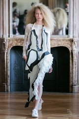 [PFW] Anne Sofie Madsen Ready-To-Wear SS2015 by DailyFashionStyle