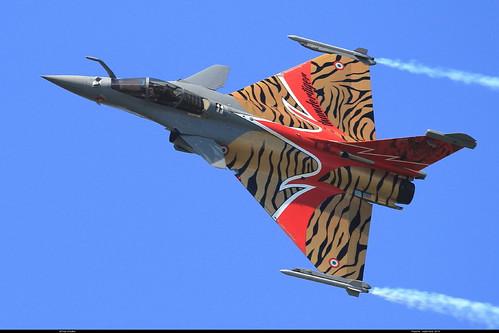 RAFALE C 113-GU 142 TIGER Payerne septembre 2014