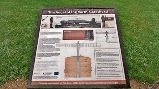 Gateshead - Sept 2014 - The Angel of the North - The Whole Story