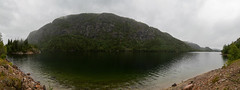 Panorama (z w a e n) Tags: panorama mountain berg norway fog forest river norge nebel cloudy norwegen telemark wald flus