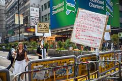 / Occupy Central /  / Umbrella Revolution (kelvintkn) Tags: street leica city people colour digital 35mm hongkong daylight asia sony summicron strike fullframe mongkok manualfocus lightroom edr primelens mirrorless a7r sharpenerpro sonyphotography colourefexpro emount leicasummicronm35mmiv dfinepro