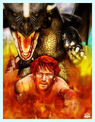 "'The Nature Of The Beast' / ""The Betrayal"" (Jagger Naughton) Tags: dragon fantasy beast jagger jaggy naughton"