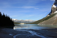 Off in the Distance (JB by the Sea) Tags: canada rockies alberta banff rockymountains lakelouise banffnationalpark canadianrockies chateaulakelouise fairmontchateaulakelouise september2014