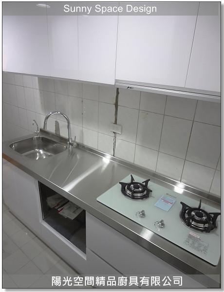 廚具│廚具大王林易延-土城金安街周小姐不銹鋼廚具案-陽光空間精品廚具-P12