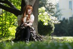 IMG_3262 (Massimo Santo   Photography) Tags: trees red italy milan fashion japan canon nikon flash gothic victorian luna lolita violin wig deborah speedlight santo alternative massimo speedlite santarelli lampista strobist