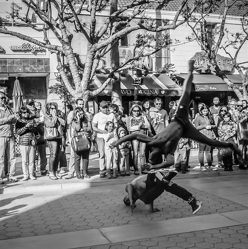 Street Performers in Santa Monica