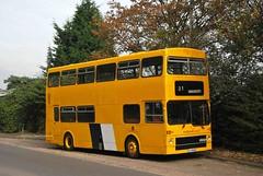 TOJ592S Castle Gresley 03/10/14 (MCW1987) Tags: classic 80 midland metrobus mcw mk1 toj592s