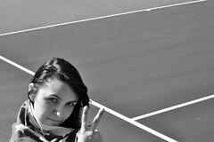 Renee Del Rey (Dakota Burns Photography) Tags: girl tattoo peace stripes flag americanflag renee westvirginia converse anchor chucks tenniscourt westvirginiaphotographer wvphotographer