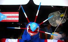 Mercado de Artesanas (Angel Xavier Viera) Tags: art arte mask sanjuan mscara 2014 sanse vejigante artesano cuartelballaj