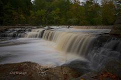 Cataract Falls (John H Bowman) Tags: october parks indiana owencounty waterfalls millcreek 2014 stateparks cataractfalls riversandstreams canon1635l lieberstaterecreationarea indianawaterfalls uppercataractfalls october2014