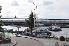 Zicht op Amsterdam (GVB813) Tags: water amsterdam boten pont centraalstation centrum busstation ij noordholland noord gvb amsterdamcs ijveer buiksloterweg gvba pontjes ponten gvbamsterdam buiksloterwegveer ijsei sectorveren
