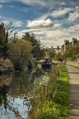Union Canal, Edinburgh (Colin Myers Photography) Tags: summer water reflections scotland boat canal warm edinburgh union scottish calm serene barge tranquil unioncanal canalreflections unioncanaledinburgh canaledinburgh calmwaterreflections