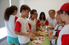 Degustación tomate ecológico puntdesabor 3