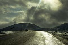 Strange light. (Explored) (Anna.Andres) Tags: iceland outdoor sland hellisheii imageourtime canoneosrebelt2i annagumundsdttir
