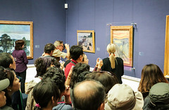 """Crowd for """"The Scream"""" (Justin Kane) Tags: art oslo norway museum painting gallery national scream edvard munch museet the nasjonal"""
