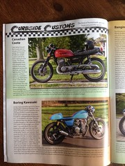 CAFE RACER MAG (Richard-7) Tags: road blue red vintage magazine naked outside moving cafe cool october published driving niagara falls cover richard motorcycle suzuki custom titan caferacer racer customs gt500 curbside t500 suzukigt500 canadiancoote boringkawasaki