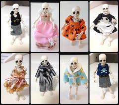 Fashion! (Kittytoes) Tags: rement poseskeleton