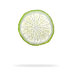 When life gives you limes... Cut them up and photograph them! (Bereno DMD) Tags: shadow food white green yellow fruit photoshop studio bright acid flash symmetry fresh clean slice lime strobe radial zest
