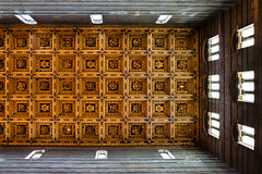 Casette Ceiling (theseBoetz) Tags: italy building church architecture religion medieval ceiling unesco pisa tuscany christianity duomo monuments duomodipisa