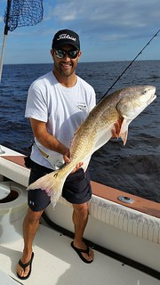 Jeff Hopeck fishing with AC Charters