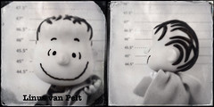 Mugshot - The Peanuts Gang - Linus van Pelt (kevin dooley) Tags: blackandwhite bw fun toys mugs funny 5 side humor gang plate peanuts front linus prison blanket jail ha van mugshots arrested tinto iphone 1884 plastictoys pelt dtype vanpelt peanutsgang linusvanpelt hipstamatic