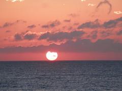 sunrise after lunar eclipse 10-8-14 (d1pinklady) Tags: ocean city sun sunrise md atlantic rise