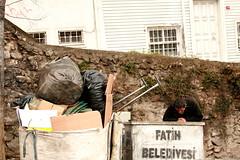 Aradmz Her Zaman yi Yerlerde Deil (zatimel) Tags: man adam garbage homeless istanbul fatih p evsiz