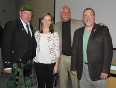 Bill Watson, Anna McGillicuddy, Earl Schandelmeier & Frank Watson