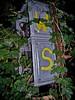 W S, Markierung (web.werkraum) Tags: berlin history typography ks surreal typo blitz yello beleuchtung weg geschichte elektrik vergangenheit 2014 grenze versalien markierung wws befreiung rudiment berlinpankow relikt erinnern überbleibsel omot berlinermauerweg wollankstrase webwerkraum karinsakrowski altegrenze typgraphie grenzertechnik grenzrelikt weddingpankow