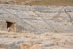 Syracuse, Sicile, théâtre grec (Jeanne Menjoulet) Tags: syracuse sicile théâtregrec parcarchéologique neapolis siracusa sicilia sicily italy