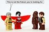 Wrong Falcon (Oky - Space Ranger) Tags: star funny lego super solo falcon obi heroes wars wan marvel han avengers chewbacca kenobi