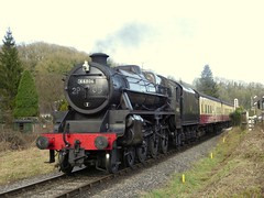 44806 (feroequineologist) Tags: 44806 black5 lms nymr northyorkshiremoorsrailway railway train steam