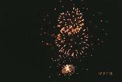 (envee.) Tags: 35mm film photography fujifilm fuji cardia dualp colour iso 200 still shoot is dead point pointandshoot fireworks mordialloc end 2016 summer dec december