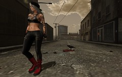 Dead 'Something' in the Middle of the Road (TinLiz_WinterStorm) Tags: virtual veechi lepoppycock livalle shoetopia combatboots boots secondlife sl slfashion secondlifefashion slmesh slblogs slblogphotos slblogposts secondlifeblogs secondlifefashionblogs secondlifeblogphotos besom pimpmysht afterthefall virtualreality virtualfashion fashion realevilindustries maitreya