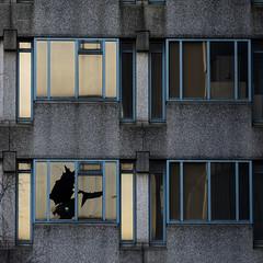 abandoned office-building, Zoetermeer (geniessen ) Tags: abandoned officebuilding zoetermeer ilce7rm2 ef70200mm decay