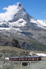 GORNERGRATBAHN AND MATTERHORN 3 JULY 2005 (47413PART2) Tags: gornergrat matterhorn
