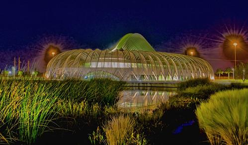 IST Building, Florida Polytechnic University, 4700 Research Way, Lakeland, Florida, USA / Architect: Santiago Calatrava / Contruction ended: 2014